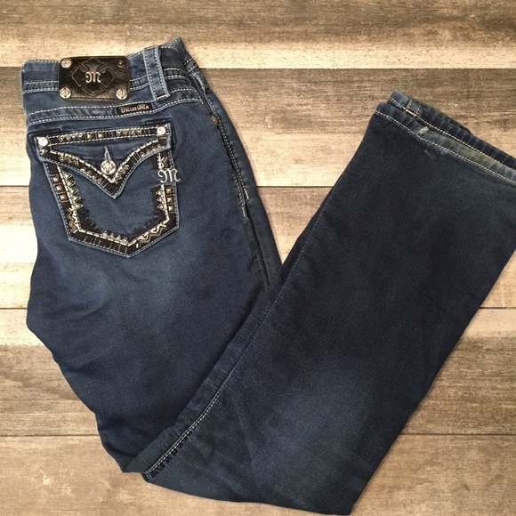Miss Me Denim - {Miss me} signature bootcut jeans